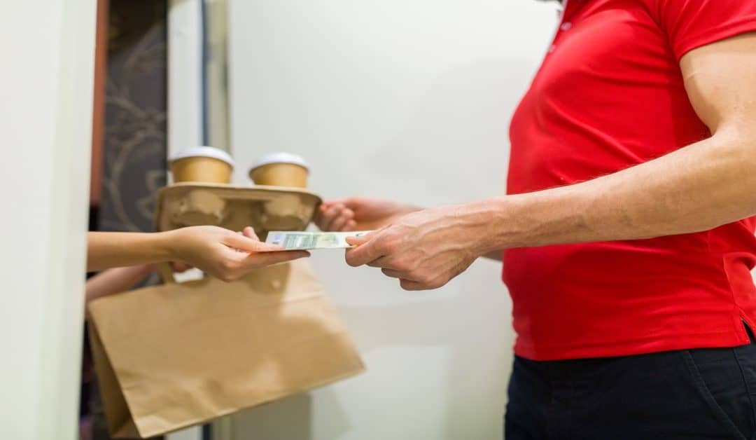 Do Food Delivery Services Accept Cash?